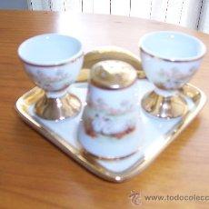Antigüedades: JUEGO DE PORCELANA. Lote 26683223