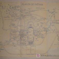 Antigüedades: PLANO DE LA PLANTA DE FATIMA. Lote 11950131
