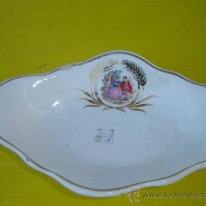 Antigüedades: BANDEJA PORCELANA. Lote 11976158