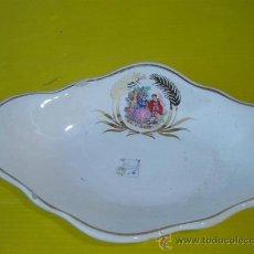 Antigüedades: BANDEJA PORCELANA. Lote 11976158
