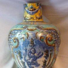 Antigüedades: JARRÓN DE TRIANA. Lote 12040250