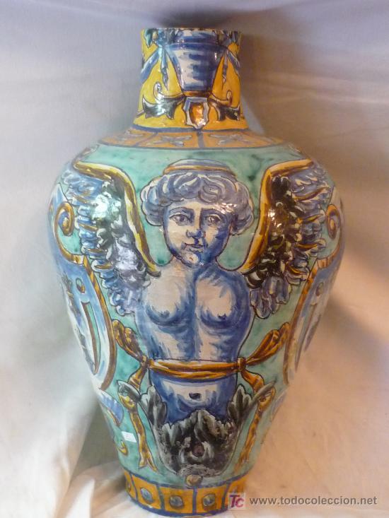 Antigüedades: Jarrón de Triana - Foto 3 - 12040250