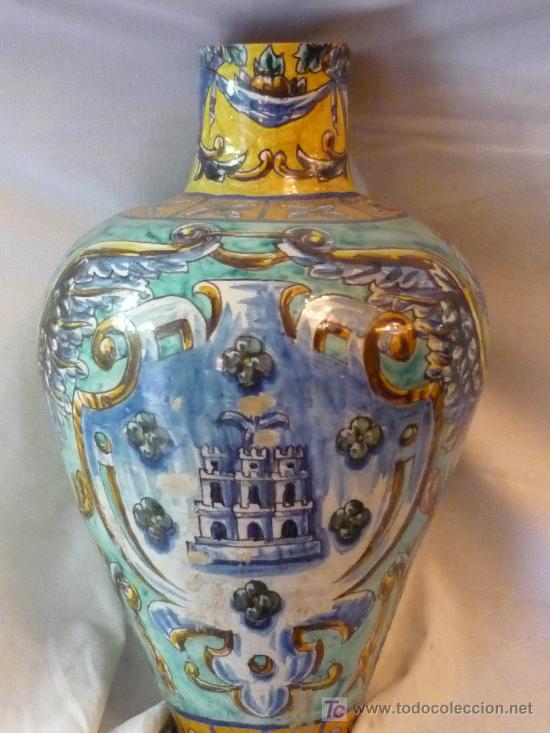 Antigüedades: Jarrón de Triana - Foto 2 - 12040250