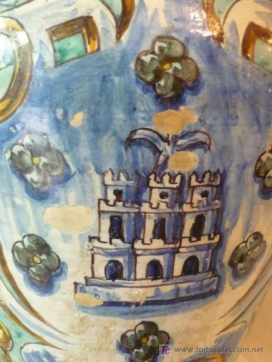 Antigüedades: Jarrón de Triana - Foto 4 - 12040250