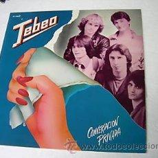 Discos de vinilo: LP TEBEO CONVERSACION PRIVADA HEAVY METAL LEE . Lote 13825744