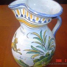 Antigüedades: JARRA CERAMICA TALAVERA NIVEIRO. Lote 26099627
