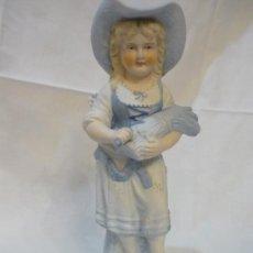 Antigüedades: NIÑA SEGADORA DE BISCUIT. Lote 12091228