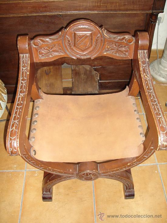 SILLA SILLÓN FRAILERO JAMUGA (Antigüedades - Muebles Antiguos - Sillones Antiguos)