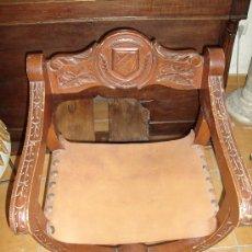 Antigüedades: SILLA SILLÓN FRAILERO JAMUGA. Lote 26288935