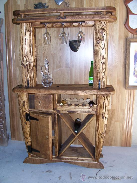 mueble rustico artesanal - Comprar Vitrinas Antiguas en ...