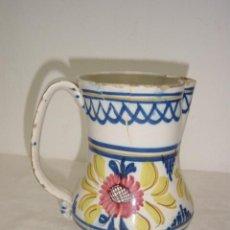 Antigüedades: JARRA DE MANISES SIGLO XIX COLORES . Lote 27485495