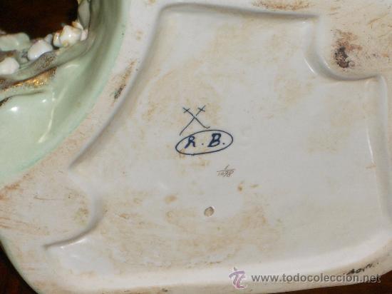 Antigüedades: EXTRAORDINARIA PORCELANA SIGUIENDO MODELOS MEISSEN DE GRANDES MEDIDAS A 50% DEL PVP - Foto 9 - 27573108