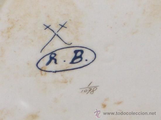 Antigüedades: EXTRAORDINARIA PORCELANA SIGUIENDO MODELOS MEISSEN DE GRANDES MEDIDAS A 50% DEL PVP - Foto 10 - 27573108