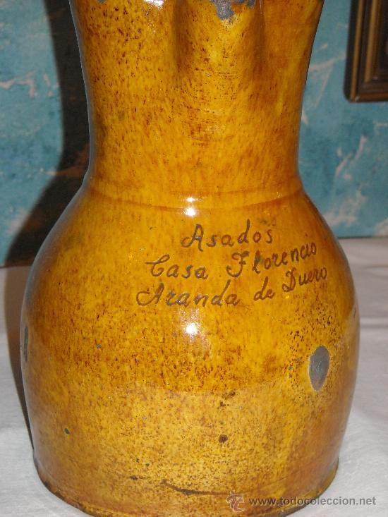 JARRA VIDRIADA (Antigüedades - Porcelanas y Cerámicas - Otras)