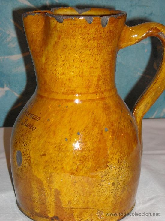 Antigüedades: JARRA VIDRIADA - Foto 2 - 27040223