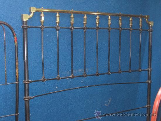 Cabecero en forja para cama de matrimonio comprar camas - Cabeceros de forja antiguos ...