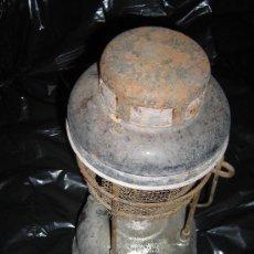 Antigüedades: LAMPARA DE PETROLEO, CREO DE LA MARCA TILLEY. Lote 26504530