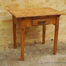 Antiquitäten - mesita tocinera,,, mueble ,, madera maciza,, rustica ,,, mue365 - 42090610