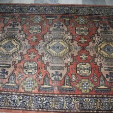 Antigüedades: TAPIZ PERSA HECHO A MANO,LANA REF.4318. Lote 26921964
