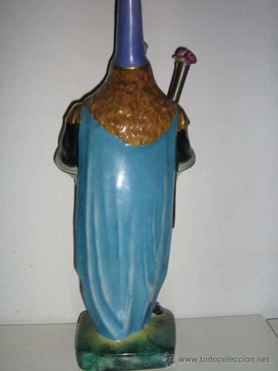 Antigüedades: ANTIGUA FIGURA DE PORCELANA ALEMANA SELLADA Y NUMERADA LW - Foto 6 - 111334140