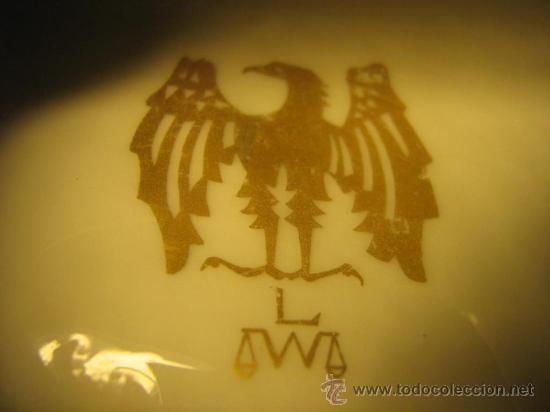 Antigüedades: ANTIGUA FIGURA DE PORCELANA ALEMANA SELLADA Y NUMERADA LW - Foto 8 - 111334140