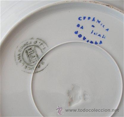 Antigüedades: PLATO ANTIGUO DE SAN JUAN ART DECO - Foto 2 - 26266558