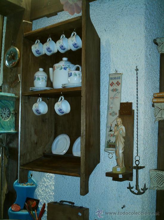 Antigüedades: ARTESA ANTIGUA HECHA ESTANTERIA - Foto 2 - 26853400