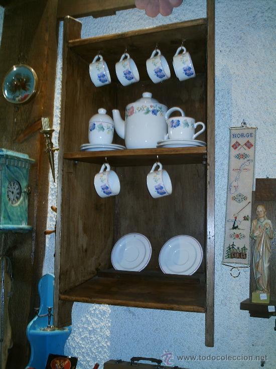Antigüedades: ARTESA ANTIGUA HECHA ESTANTERIA - Foto 3 - 26853400