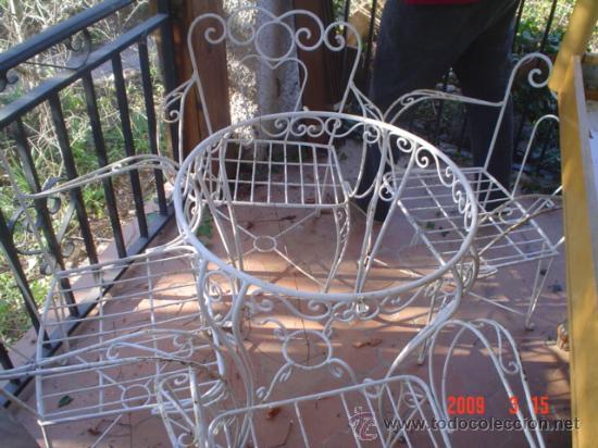 juego de mesa y sillas de jardin - Kaufen Antike Tische in ...