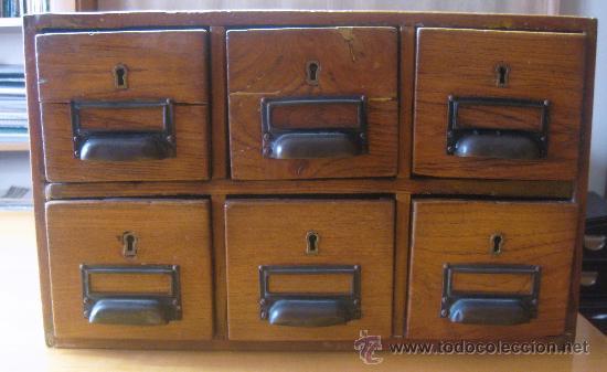 Subastas Muebles Antiguos Barcelona : Cajonero archivador antiguo comprar cómodas antiguas en