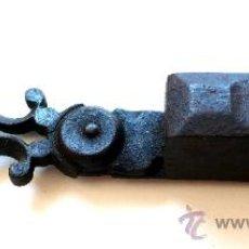 Antigüedades: TIJERAS DESPABILADERA - HIERRO FORJADO - S. XVIII - XIX . Lote 27058984