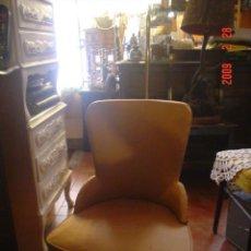 Antigüedades: BUTACA DE COQUETA. Lote 26702243