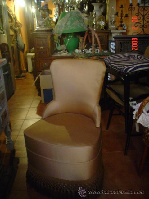 Antigüedades: BUTACA DE COQUETA - Foto 2 - 26702243