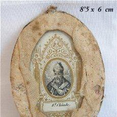 Antigüedades: ESCAPULARIO DE ST CLAUDE ANTIGUO. Lote 25959351