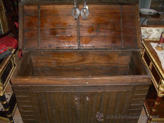 Antigüedades: IMPRESIONANTE ARCON HIERRO ANTIGUO ARCA, CAJA DE CAUDALES. - Foto 4 - 27420844