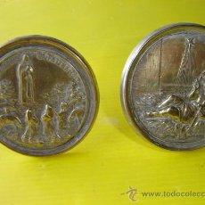 Antigüedades: 2 RELICARIOS DE ALPACAR. Lote 12791760