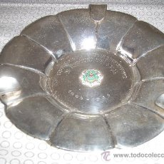 Antigüedades: YD 644 - CENICERO CENTENARIO INTERVENTORES 17 CMS CENICERO INTERVENTORES 137 GRS. Lote 23867992