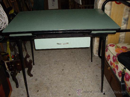 Mesa de formica de cocina comprar mesas antiguas en - Mesas antiguas de cocina ...
