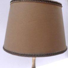 Antigüedades: LAMPARITA DE MESA BRONCE. Lote 27391211