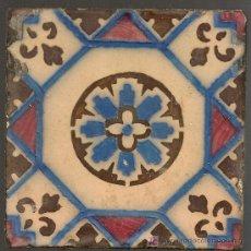 Antigüedades: AZULEJO PORTUGUES 14 X 14 CM.. Lote 22943325