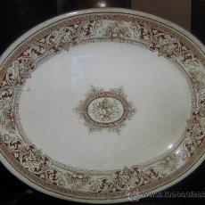 Antigüedades: BANDEJA DE INGLATERRA HILL POTTERY BURSLEN DEL AÑO 1830. Lote 26325472