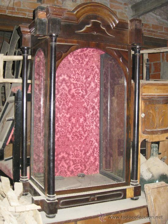 Segunda Mano Antiguedades Muebles : Hornacina o aparador para imagen religiosa isab comprar