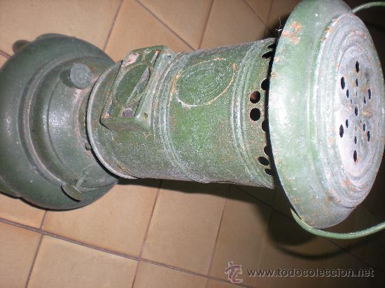 Antigüedades: ESTUFA DE QUEROSENO muy ANTIGUA, VER FOTOS - Foto 4 - 22450057
