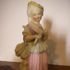 Antigüedades: PORCELANA BISCUIT, SIGLO XIX, FIGURA . Lote 26310084