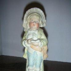 Antigüedades: PORCELANA BISCUIT , ANTIGUA . Lote 26653060