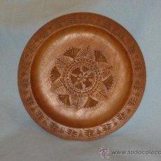 Antigüedades: PLATO MADERA TALLADO. Lote 26715739