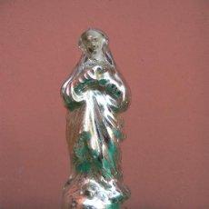 Antigüedades: ANTIGUA VIRGEN EN CRISTAL DE LA GRANJA. Lote 26763962