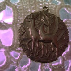 Antigüedades: 4 X 4,5 CM MEDALLA METAL. Lote 13069217