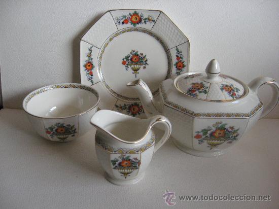 Juego de te de porcelana inglesa steventons ha comprar - Porcelana inglesa antigua ...