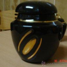 Antigüedades - BOMBONERA DE PORCELANA - 26578416